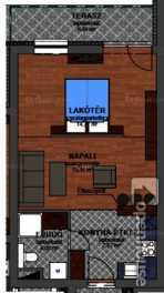 Szombathelyi új építésű lakás eladó, 41 négyzetméteres, 2 szobás