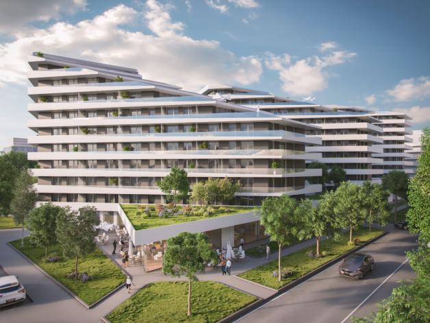 Új Építésű lakás eladó Budapest, Ferencvárosi rehabilitációs terület Vágóhíd utca 5., 104 négyzetméteres