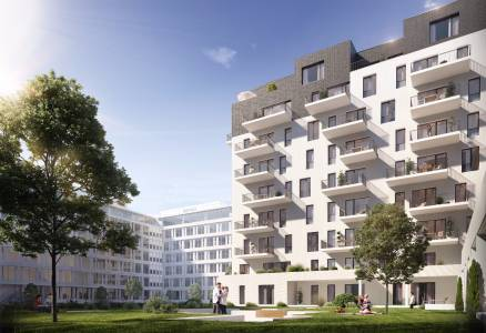 Eladó új építésű lakás Ferencvárosi rehabilitációs területen, Pápay István utca 5., 3+1 szobás