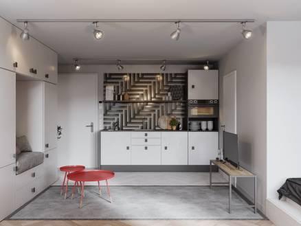 Budapesti lakás eladó, Józsefvárosban, Lujza utca 10., új építésű