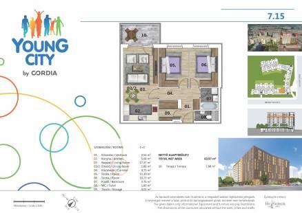 Eladó lakás Budapest, Angyalföld, Gidófalvy Lajos utca, 2., új építésű