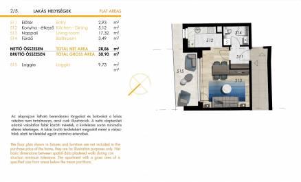 Eladó 1 szobás új építésű lakás, Józsefvárosban, Budapest