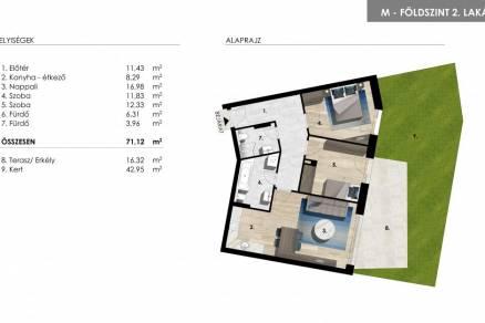 Balatonföldvár eladó új építésű lakás