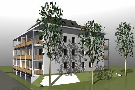 Eladó 1+2 szobás új építésű lakás Bicske, Csákvári út 14.