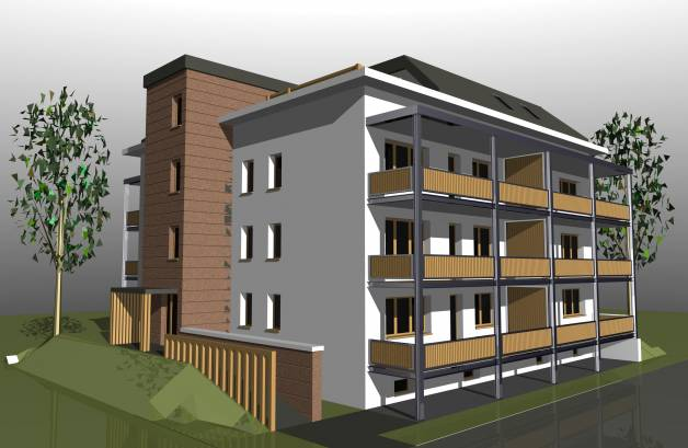 Bicske új építésű lakás eladó, Csákvári út 14., 1+2 szobás