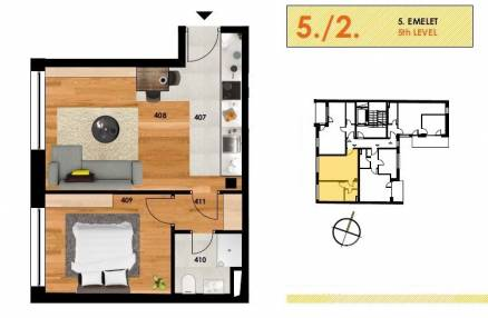 Eladó lakás Budapest, Józsefváros, új építésű