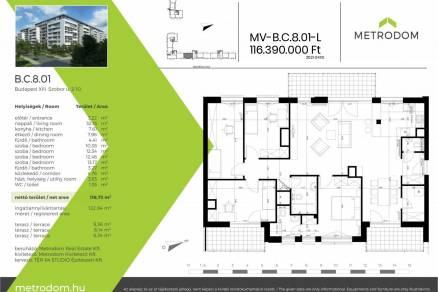 Eladó 4+1 szobás új építésű lakás Budapest, Szobor utca 2.