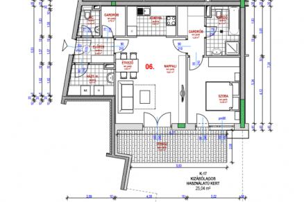 Eladó új építésű lakás Csúcshegyen, Kocsis Sándor út 6., 2 szobás