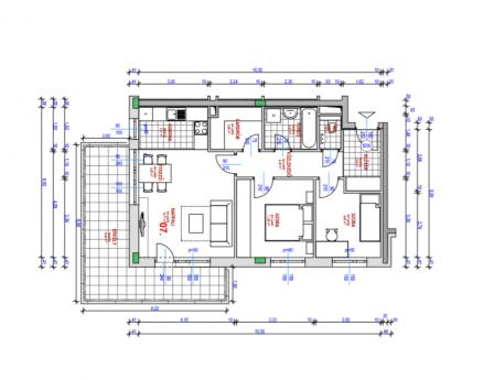 Eladó új építésű lakás Csúcshegyen, Kocsis Sándor út 6., 1+2 szobás