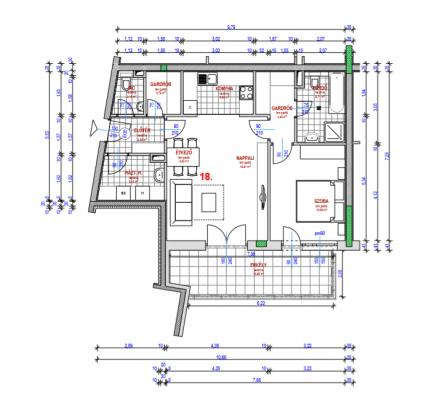 Eladó 2 szobás új építésű lakás Budapest, Kocsis Sándor út 6.