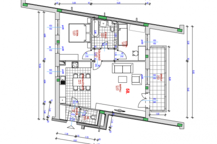 Eladó 2+1 szobás új építésű lakás Budapest, Kocsis Sándor út 6.
