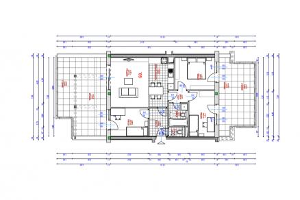 Új Építésű lakás eladó Budapest, Csúcshegy Kocsis Sándor út 6., 105 négyzetméteres