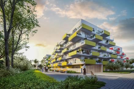 Eladó új építésű lakás Alsórákoson, Szugló utca 125., 2+1 szobás