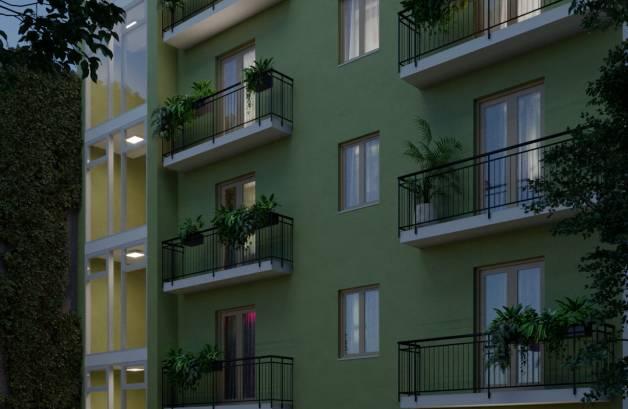 Eladó új építésű lakás Józsefvárosban, 2 szobás
