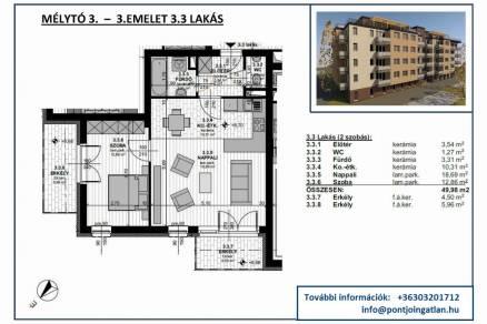 Eladó lakás Budapest, Újhegy, Újhegyi út, új építésű