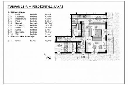 Eladó 2 szobás új építésű lakás, Ligetteleken, Budapest