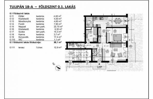 Eladó lakás Budapest, Ligettelek, Halom utca, új építésű