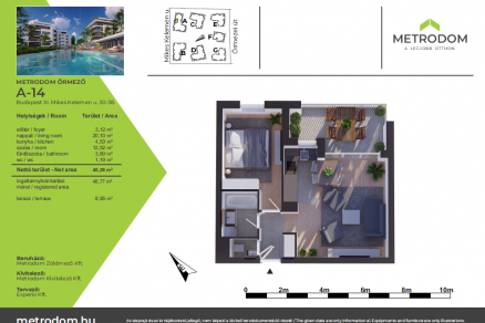 Új Építésű lakás eladó Budapest, Őrmező Őrmezei út 33., 45 négyzetméteres