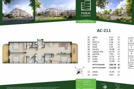 Eladó lakás Budapest, Alsórákos, Bartl János utca, 2., új építésű