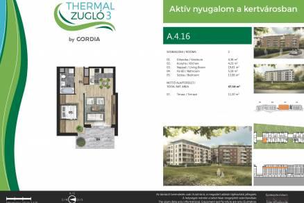 Eladó lakás Budapest, Alsórákos, Fischer István utca, 119-121., új építésű