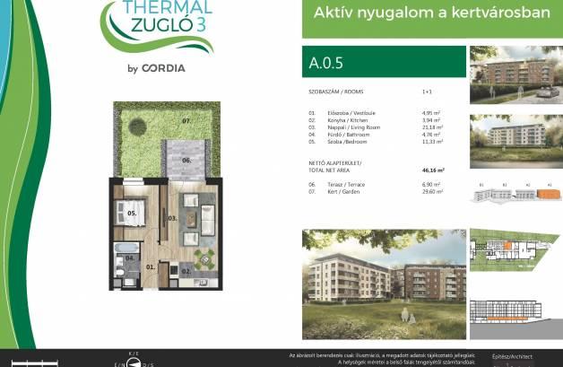 Budapesti új építésű eladó lakás, Alsórákoson, Fischer István utca 119-121.