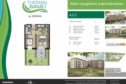 Új Építésű lakás eladó Budapest, Alsórákos Fischer István utca 119-121., 50 négyzetméteres