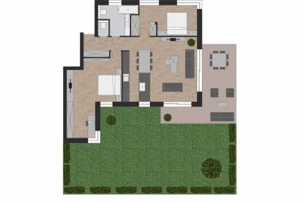 Eladó lakás Budapest, Testvérhegy, Erdőalja út, 85., új építésű