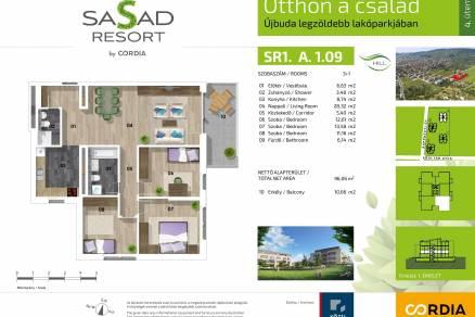 Budapesti lakás eladó, Spanyolréten, Felső határút 4., új építésű