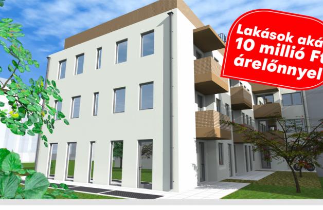 Budapesti új építésű eladó lakás, Angyalföldön, Kucsma utca 14.