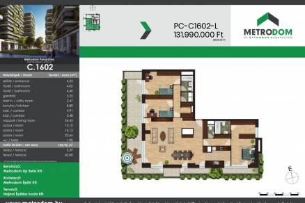 Budapesti lakás eladó, Újpesten, Attila utca 14-18., új építésű