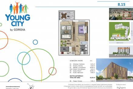 Budapesti új építésű eladó lakás, Angyalföldön, Gidófalvy Lajos utca 2.
