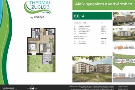 Budapesti lakás eladó, Alsórákoson, Fischer István utca 119-121., új építésű
