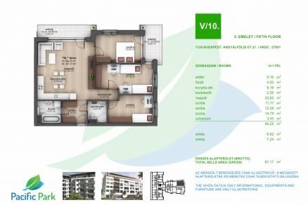 Budapesti lakás eladó, Angyalföldön, Angyalföldi út 21., új építésű