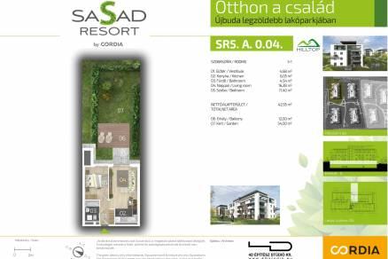 Eladó 1+1 szobás új építésű lakás Budapest, Felső határút 4.
