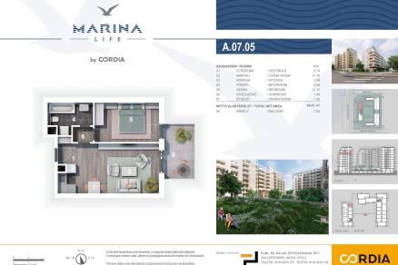 Budapesti lakás eladó, Vizafogón, Mura utca 2., új építésű
