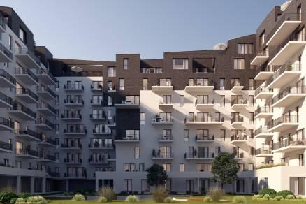 Eladó új építésű lakás Ferencvárosi rehabilitációs területen, Pápay István utca 5., 1+1 szobás