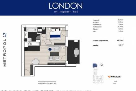Budapesti lakás eladó, Angyalföldön, Lehel utca 25., új építésű
