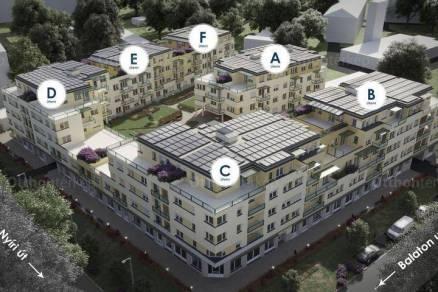 Eladó 1 szobás új építésű lakás Kecskemét, Balaton utca 19.