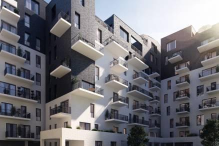 Új Építésű lakás eladó Budapest, Ferencvárosi rehabilitációs terület Pápay István utca 5., 54 négyzetméteres